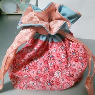 Handmade Draw String Bag - Perfect For Teacher's Day Gift ($6 Only)