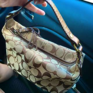 COACH Purse And Matching Card Holder