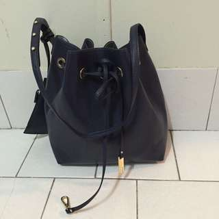 Marcs Navy blue Bucket Bag