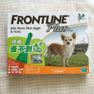 Frontline蚤不到全效+(小型犬)