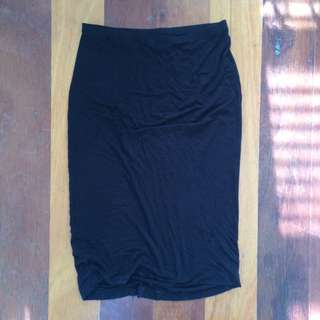 Basic Black Skirt