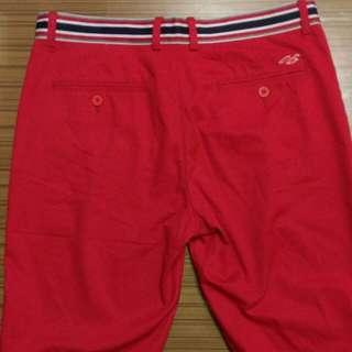 HCO Ponto Beach 紅色短褲