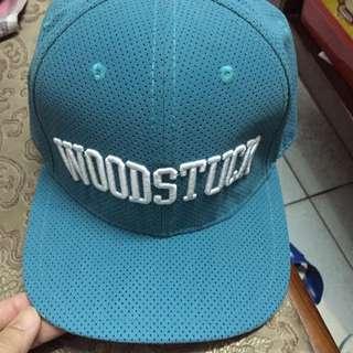 全新含運費 Woodstuck 湖水綠棒球帽