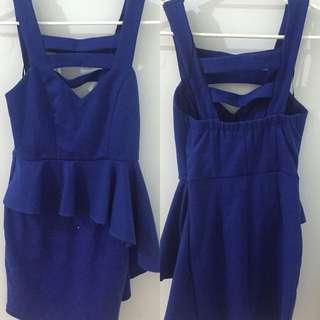 Blue Dissh Dress