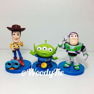 SEGA 迪士尼 玩具總動員 胡迪 三眼怪 巴斯 景品 盒玩 擺飾