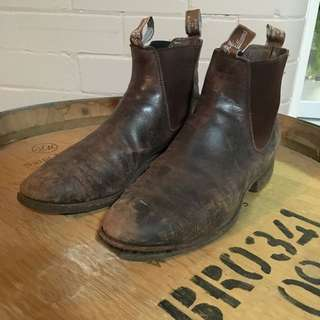 Genuine Stockman's RMWILLIAM'S Boots