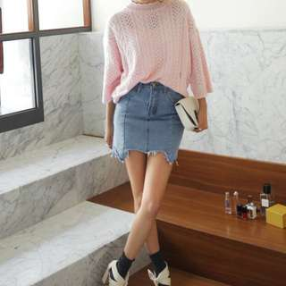 Korean style knitted top