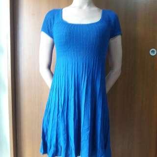 MOMA藍色洋裝