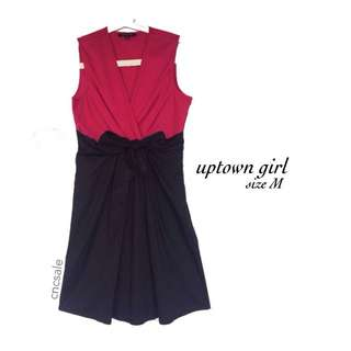 Fusia Dress - Uptown Girl