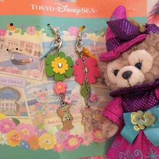 達菲熊 可愛吊飾 雪莉梅 東京迪士尼帶回 限量 絕版