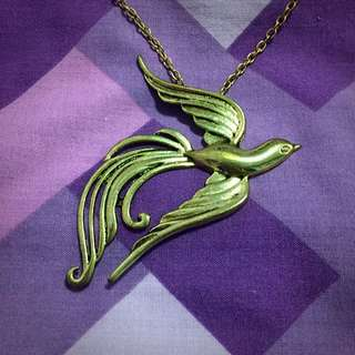 Swallow Pendant Necklace