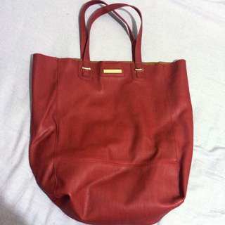 Colette Hayman Red Handbag