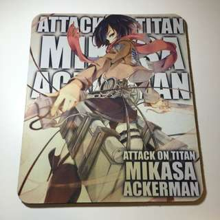 Attack On Titan Mikasa Mousepad
