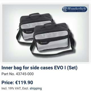 Wunderlich Inner Bags For BMW Vario Side Panniers