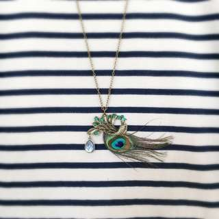 Charming Peacock Necklace