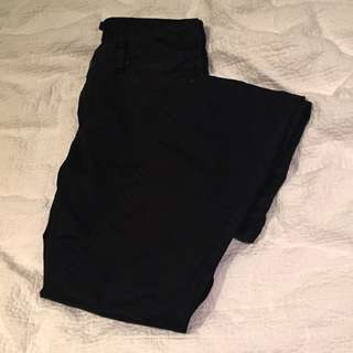Sports Girl Black Coated Jeans Size 8
