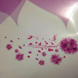 Wall Flower Sticker