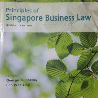 Principles Of Singapore Business Law (2nd Edition )