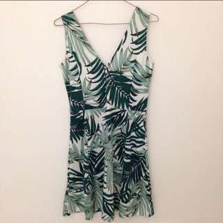 H&M Palm Leaves Dress