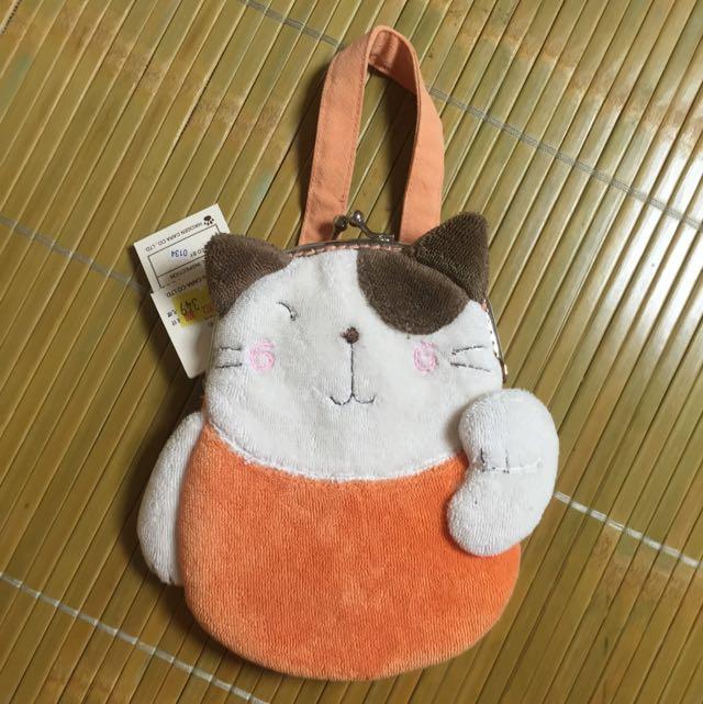 卡拉貓口襟包