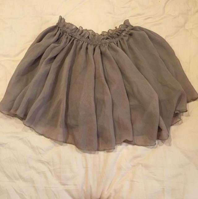 雙層浪漫紗裙