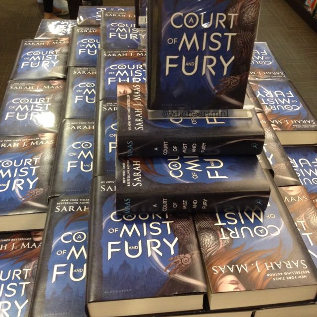 A Court Of Mist And Fury HB