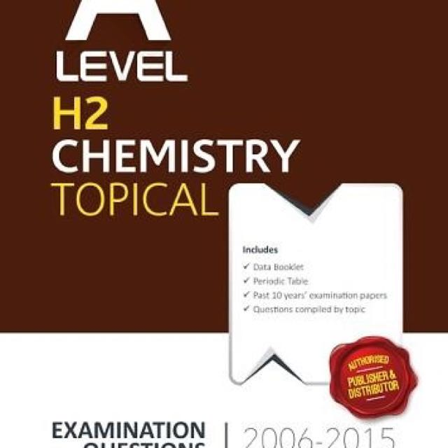 A Level Chemistry Ten Year Series