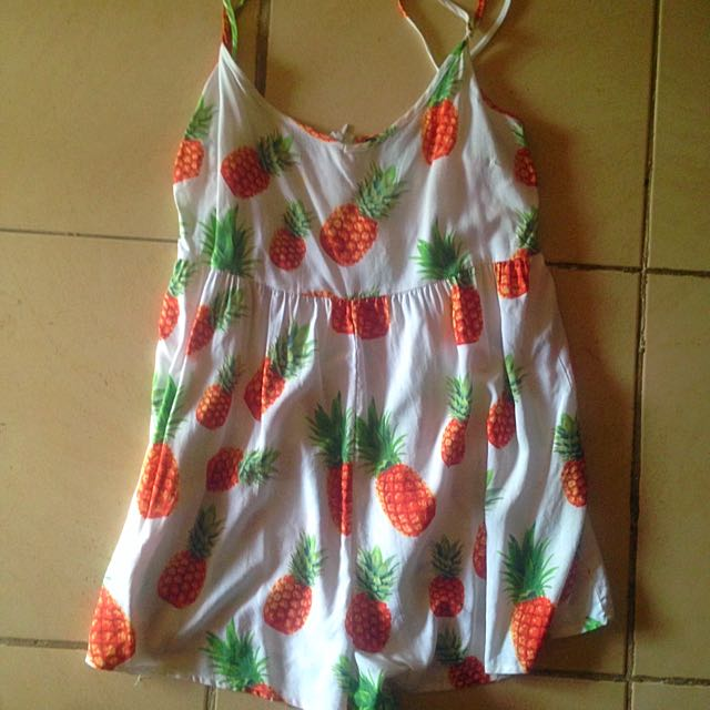 Ally Pineapple Playsuit