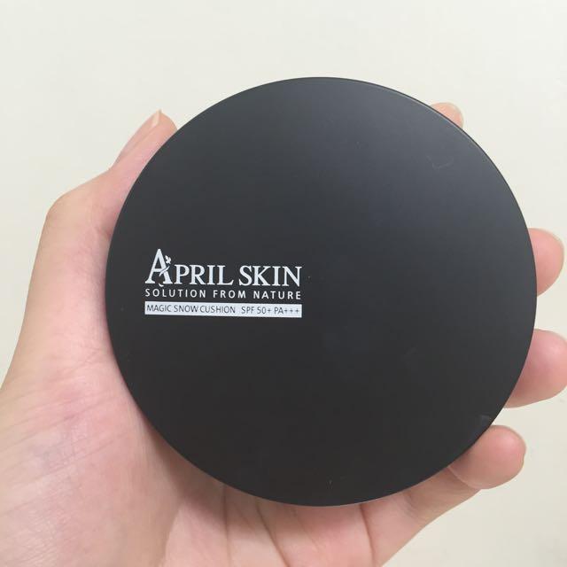 April skin 氣墊粉底