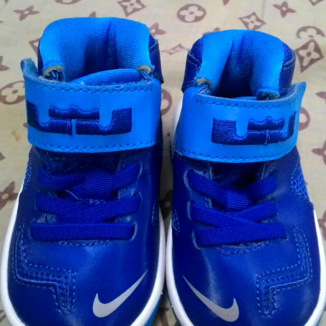 PRELOVED LEBRON JAMES NIKE SHOES (BLUE)