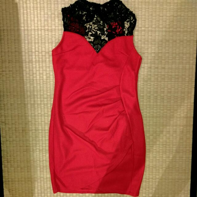 Brand New Red Lace Dress