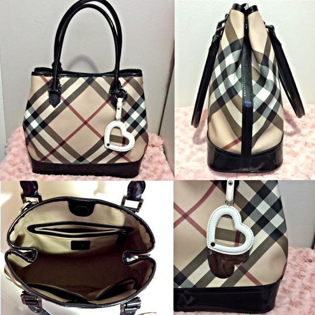 BURBERRY Nova Check Tote Bag *discontinued*