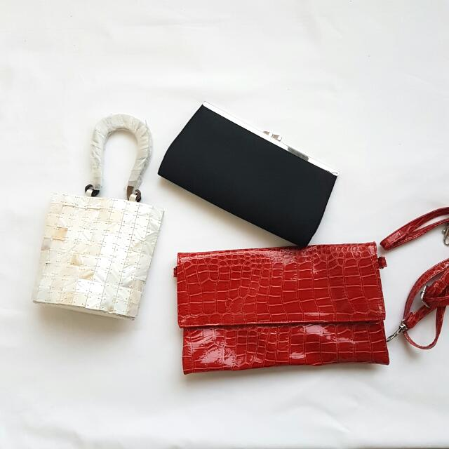 Clutches from $25