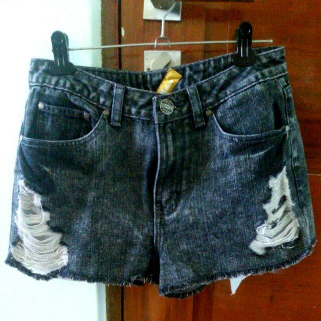 Denim Shorts ❤ Folded & Hung