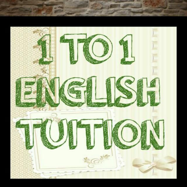 English 1 TO 1 TUITION Secondary