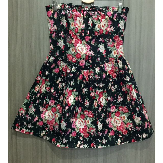 Floral Cotton Tube Dress