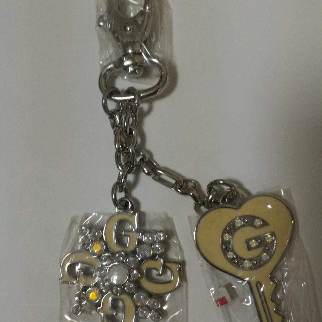 Guess Keychain