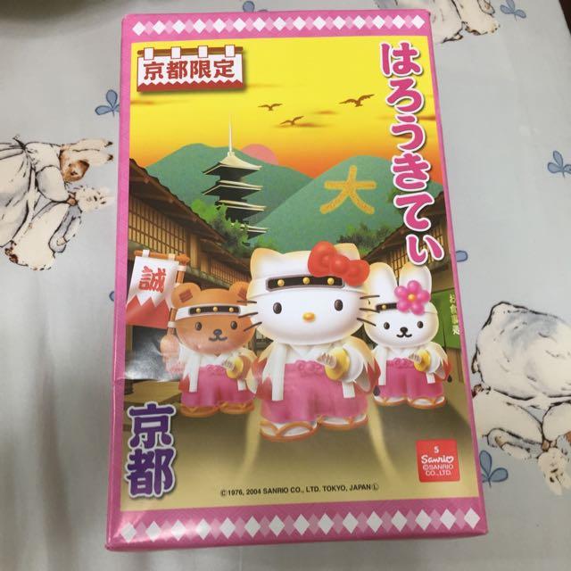 京都限定hello Kitty餅乾