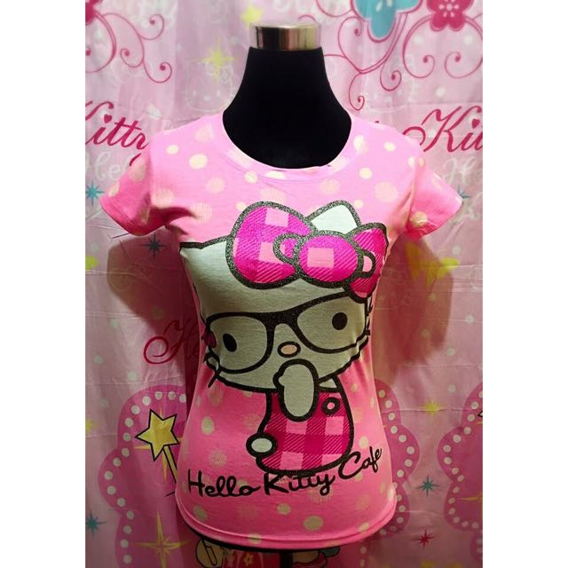 ba17d44e1 Hello Kitty Blouse, Women's Fashion, Clothes, Tops on Carousell