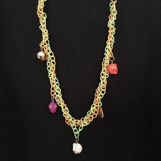 Hippie Skulls Necklace