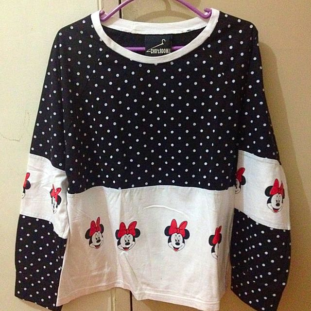 HK Minnie Mouse Sweater