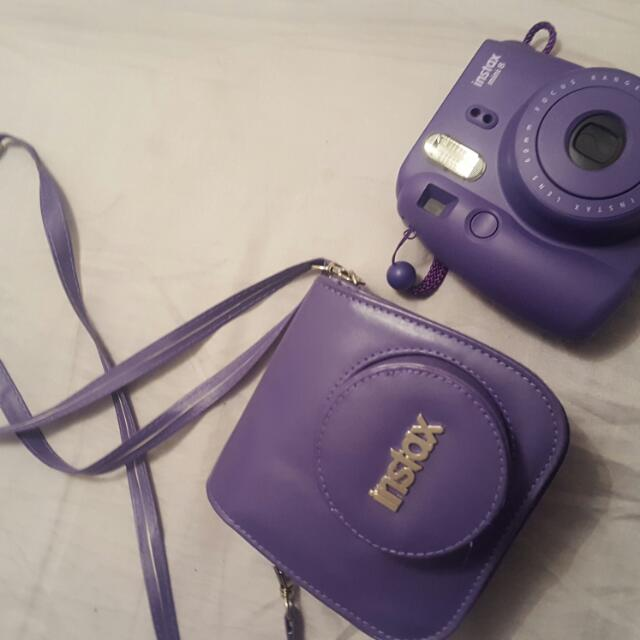 Instax Camera Purple