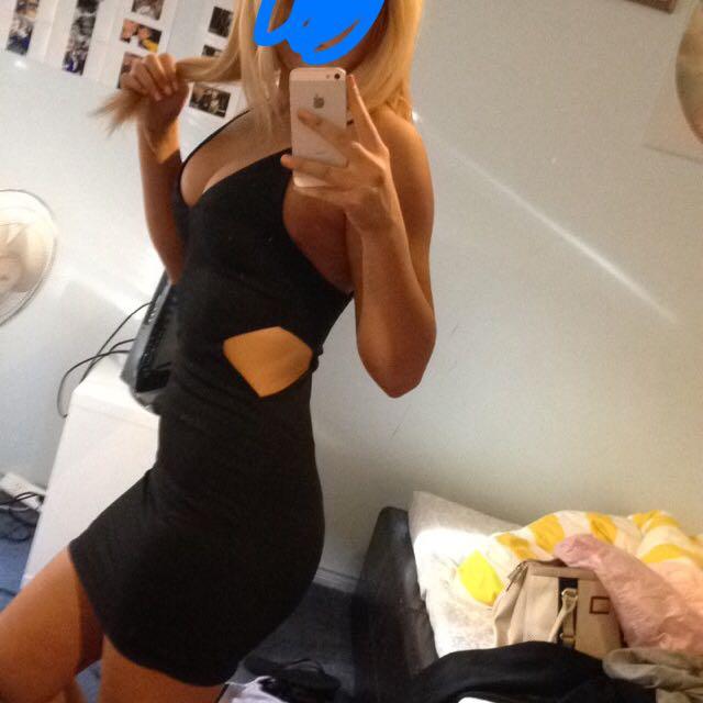 Jane Cooper Black Dress