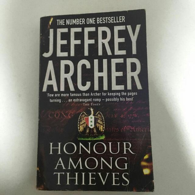 Jeffrey Archer - Honor Among Thieves