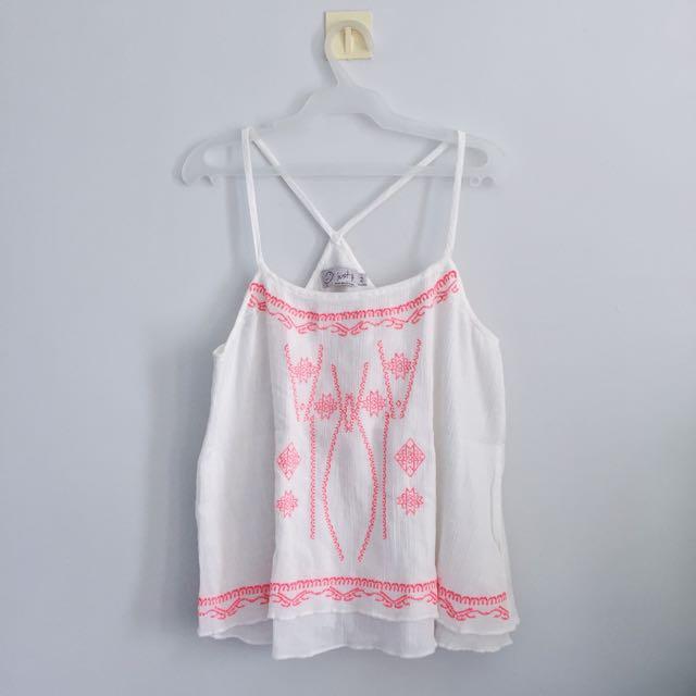 SALE! Just G Boho Top