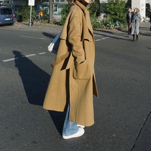 Korean style long coat