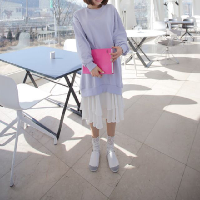 Korean style one piece dress