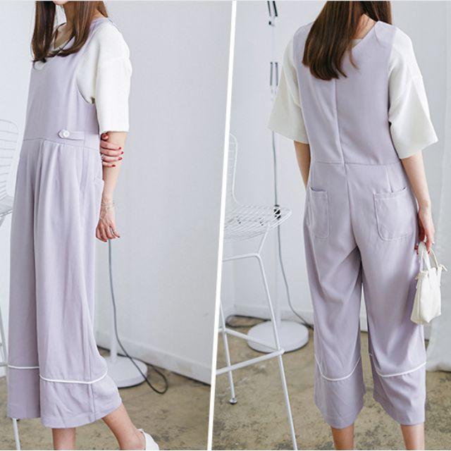 Korean style one piece pants