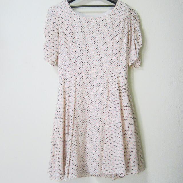 Lalu Polka Dotted Dress