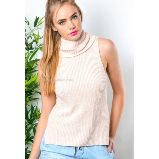 Light Pink roll neck - XS/S